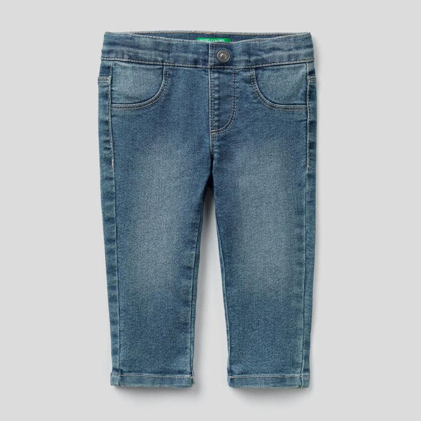 "Slim fit jeans in ""Eco-Recycle"" denim"