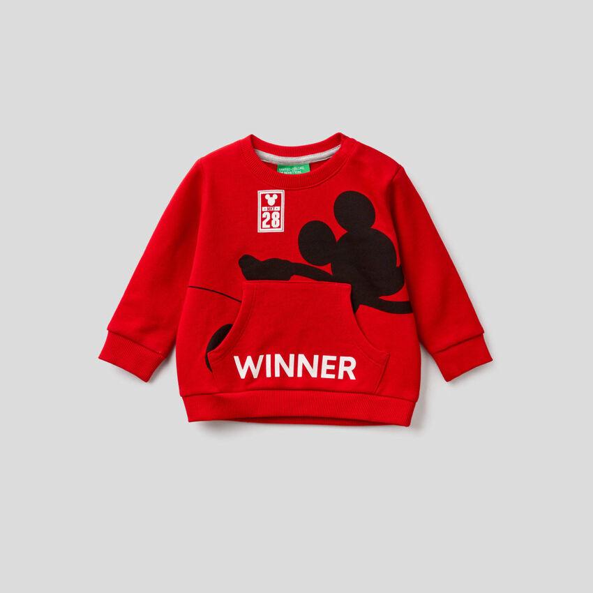 Sweatshirt with Disney print